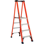 Louisville 6' Type 1AA Fiberglass Pro Platform Step Ladder - FXP1806HD