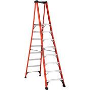 Louisville 8' Type 1AA Fiberglass Pro Platform Step Ladder - FXP1808HD