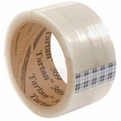 "3M Tartan Carton Sealing Tape 369 2"" x 55 Yds 1.6 Mil Clear - Pkg Qty 6"