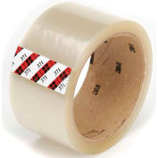 "3M Carton Sealing Tape 371 2"" x 55 Yds 1.9 Mil Clear - Pkg Qty 6"