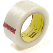 "3M Carton Sealing Tape 371 2"" x 110 Yds 1.9 Mil Clear - Pkg Qty 6"