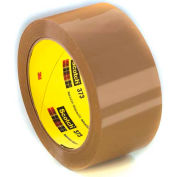 "3M Carton Sealing Tape 373 2"" x 55 Yds 2.5 Mil Tan - Pkg Qty 6"