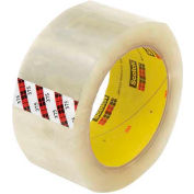 "3M Carton Sealing Tape 375 2"" x 55 Yds 3.1 Mil Clear - Pkg Qty 6"