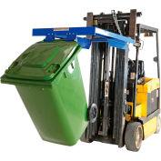 Vestil Forklift Mounted Trash Can Dumper TCD-FM-E 500 Lb. Cap.