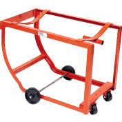 Modern Equipment MECO DSR Rock-It Drum Cradle No Handle Rubber Casters 1000 Lb.