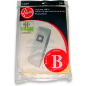 Hoover® Type B Allergen Bag for CH53000 Soft-Bagged Upright Task Vac, 3/Pack - 4010103B
