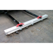 "AMK Magnetics Double Strength Load Release RoadMag Sweeper, 96""W, RDS-96LR"