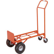 Modern Equipment MECO 200SP Convetible 2-in-1 Hand Truck Semi-Pneumatic 450 Lb.