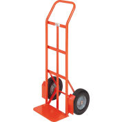 Modern Equipment MECO 210PN Curved Handle Hand Truck Pneumatic 600 Lb.