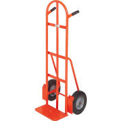 Modern Equipment MECO 292SP Curved Double Handle Hand Truck Semi-Pneumatic 500 Lb.