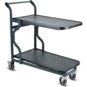 VersaCart® EZtote®9600 HD Nesting Stock Cart 107-9600 DGY Dark Gray