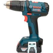 "BOSCH® DDB181-02 1/2"" Compact Drill Driver w/ 2 x 1.5 ah Slim Pack Batteries"