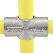 "Global Pipe Fitting - Two Socket Cross 1"" Dia."