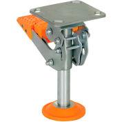 "Vestil Floor Lock with Polyurethane Foot Pad FL-LKH-8 for 8"" Casters"