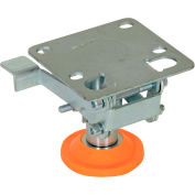 "Vestil Floor Lock with Polyurethane Foot Pad FL-LKL-3 for 3"" Casters"