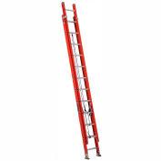 Louisville Type 1A 24' Lightweight Fiberglass Extension Ladder - L3025-24