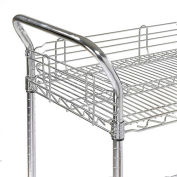 "Nexel® AH24EP Nexelate® Utility Cart Handle 24"" (Priced Each, In A Package Of 2) - Pkg Qty 2"