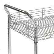 "Nexel® AH18EP Nexelate® Utility Cart Handle 18"" (Priced Each, In A Package Of 2) - Pkg Qty 2"