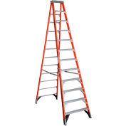 Werner 12' Type 1AA Fiberglass Step Ladder 375 lb. Cap - 7412