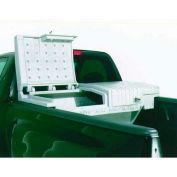 """Nevr-Rust™ Tool-Tainer II-L Plastic Truck Box 71""""L X 26-1/2""""W X 26""""H White - 29001"""