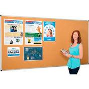 Large Cork Bulletin Board - 96 x 48 - Aluminum Frame