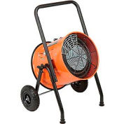 Salamander Heater – Portable Electric Fan Forced - 480V 15 KW 3 Phase 18.1 Amps