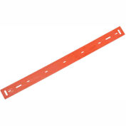 """Global Industrial™ Replacement Polyurethane Front Squeegee Blade for 17"""" Scrubber"""