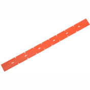 """Replacement Polyurethane Rear Squeegee Blade for 17"""" Scrubber"""