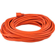 Global 100 Ft. Outdoor Extension Cord, 14/3 Ga, 13A, Orange