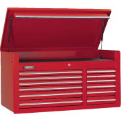 Stanley Black & Decker J455027-12RD Proto 450HS 12-Drawer Top Chest - Red