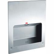ASI® ADA Recessed Turbo Tuff Hand Dryer, 277V - 0135-3