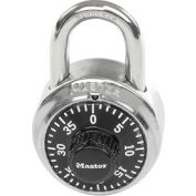 "Master Lock® Combination Padlock - 3/4"" Shackle - With Key Access and Matching Control Key"