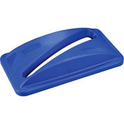 Global™ Paper Recycling Lid - Blue