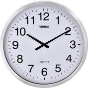 """Oversized Wall Clock - 20"""" – Aluminum"""