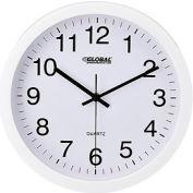 "White Wall Clock – 12"" - Plastic"