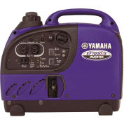 Yamaha EF1000iS Portable Inverter Generator, 1000 Watt 50cc OHV 4-Stroke Gas CARB Compliant