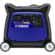 Yamaha EF6300iSDE Portable Inverter Generator, 6300 Watt 357cc OHV Electric Start Gas CARB Compliant