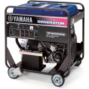 Yamaha EF12000DEY Portable Generator 12000 Watt Twin-Cyl 653cc OHV Electric Start Gas CARB Compliant