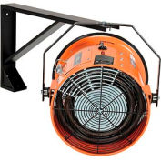 Salamander Heater – Electric Wall Mount Fan Forced - 480V 15 KW 3 Phase 18.1 Amps