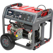 Briggs & Stratton 030663A, 7000 Watts, Portable Generator, Gasoline, Electric/Recoil Start, 120/240V