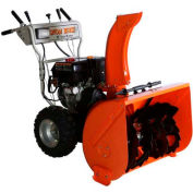"GXI 30"" Snow Beast Dual Stage Snow Blower, Fully Assembled Orange/Gray - 30SBM15FA"