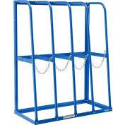 "Global Industrial™ Vertical Bar Storage Rack, 4 Bays, 48""W x 24""D x 60""H, 6000 Lb. Capacity"