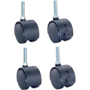 "2"" Poly Stem Caster Set - Set of 4"