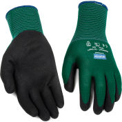 NorthFlex Oil Grip™ Nitrile Coated Gloves, North Safety NF35/8M, Green, 1 Pair - Pkg Qty 12