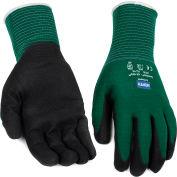 NorthFlex Oil Grip™ Nitrile Coated Gloves, North Safety NF35/10XL, Green, 1 Pair - Pkg Qty 12