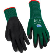 NorthFlex Oil Grip™ Nitrile Coated Gloves, North Safety NF35/7S, Green, 1 Pair - Pkg Qty 12
