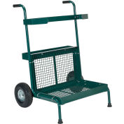 Vestil Portable Green Garden Dolly GD-2417-GN 300 Lb. Capacity