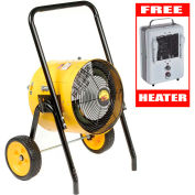 TPI Fostoria 15KW Heater 240V 1-Phase FES-1524-1A + Free 1500W Heater 188TASA