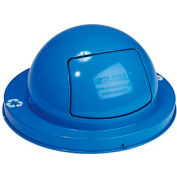 Global Industrial™ Steel Dome Top Lid - Blue