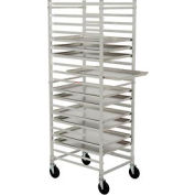 Nexel® PR2126 Bakers Sheet Pan Rack, Economy, Knock Down, End Loading, Aluminum